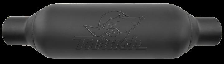 Thrush® Rattler Muffler - Center / Center - 24253