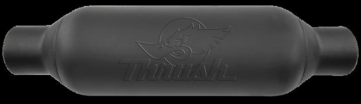 Thrush® Rattler Muffler - Center / Center - 24254