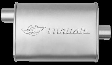 Hush Thrush™ Muffler - Offset / Center - Thrush® Exhaust P/N: 17631