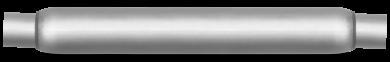 Thrush® Glasspack Muffler - Center / Center - Thrush® Exhaust P/N: 24090