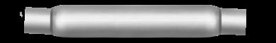 Thrush® Glasspack Muffler - Center / Center - Thrush® Exhaust P/N: 24098