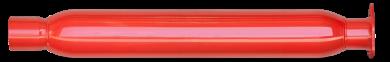 Thrush® Glasspack Muffler - Center / Center - Thrush® Exhaust P/N: 24221