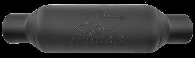 Thrush® Rattler Muffler - Center / Center - 24255