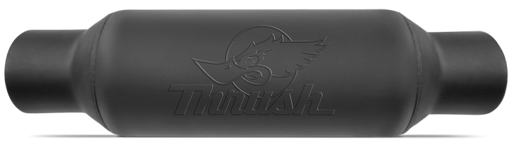 Thrush® Rattler Muffler - Center / Center - 24256
