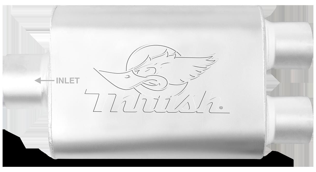 Thrush 17630 Welded Muffler