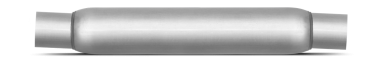 Thrush® Glasspack Muffler - Center / Center - Thrush® Exhaust P/N: 24041
